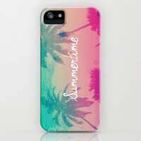Summertime iPhone & iPod Case by hyakume