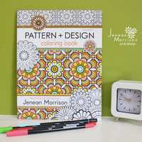 Pattern and Design Coloring Book, Volume One