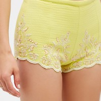 Free People Talulah Embroidered Short