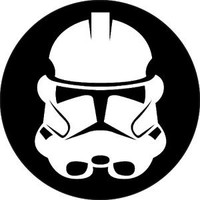 Star Wars Buttons - Storm Trooper