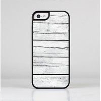 The White Wood Planks Skin-Sert Case for the Apple iPhone 5c