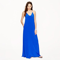 Collection silk maxidress - Cocktail - Women's dresses - J.Crew