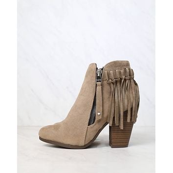 Boho Fringe Ankle Booties in More Colors