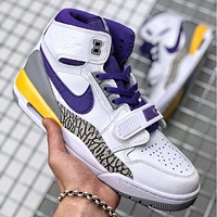 Nike AIR Jordan AJ1 high-top men's and women's basketball shoes board shoes casual all-match sports shoes