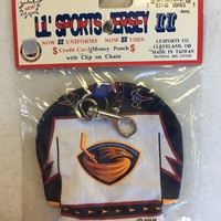VINTAGE ATLANTA THRASHERS JERSEY COIN POUCH BACKPACK ACCESSORY SHIPPING