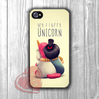 agnez and fluffy unicorn-1nay for iPhone 4/4S/5/5S/5C/6/ 6+,samsung S3/S4/S5,S6 Regular,S6 edge,samsung note 3/4