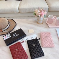 HCXX 19Sep 810 Fashion Quilted Long Clutch Wristlet Wallet 20-10cm