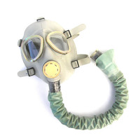 Soviet Russian gas mask rebreather IP-4 M Halloween carnival collectibles original steampunk spooky