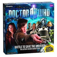 Doctor Who Battle to Save the Universe Action Board Game - Diamond Select - Doctor Who - Games at Entertainment Earth