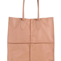 SIMPLE LIFE. Simple leather tote / shoulder tote bag  / leather shoulder bag / nude leather tote. Available in different leather colors.