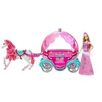 Barbie Fairytale Horse and Carriage