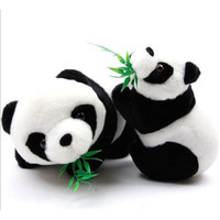 Details about  Christmas Gift Soft Stuffed Panda Bear Toy Girl's Squabby Plush Animal Doll