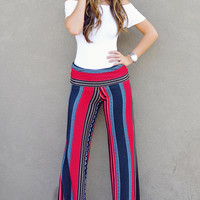 Fall Into The Tribe Pants: Multi   Hope's