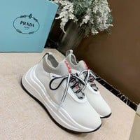 PRADA Women 2020 new Fashion popular Casual Sneakers Sport running Shoes white Size 35-40