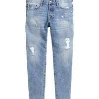 H&M Slim Regular Trashed Jeans $39.99