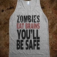 Zombies Eat Brains, You'll Be Safe