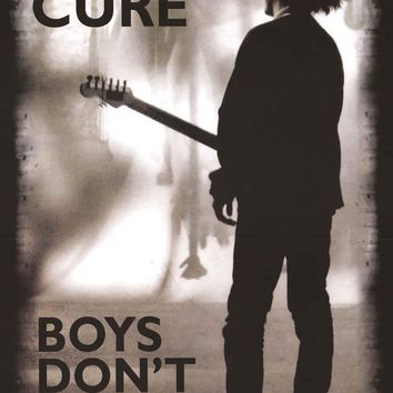 The Cure Boys Don't Cry Poster 24x36