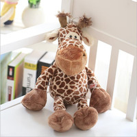 23cm, 9 inch.  NICI giraffe toy plush, lovely stuffed animal deer doll, big birthday gift for boys