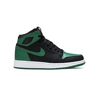 Air Jordan 1 Retro High Pine Green (GS) Green Black