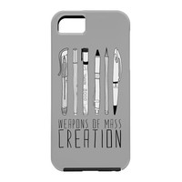 Bianca Green Weapons Of Mass Creation Grey Cell Phone Case