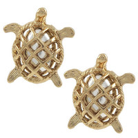 Turtle Earring Set