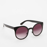Modern Metal Cat-Eye Sunglasses