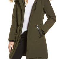 Vince Camuto Down & Feather Fill Parka with Faux Fur Trim   Nordstrom
