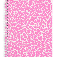 Pressed Pattern Spiral Notebook