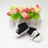 """Doll shoes ,bue sport leisure doll shoes for 18"""" inch american girl doll for baby gift"""