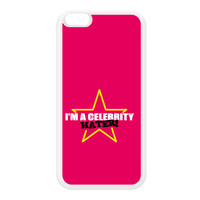 Celebrity Hater White Silicon Rubber Case for iPhone 6 Plus by Chargrilled