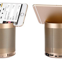 Bluetooth Speaker w/ Subwoofer phone Stand