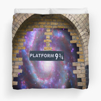 Platform 9 3/4 to the space by kristine1982