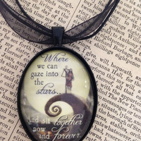 """Nightmare Before Christmas - Jack & Sally """"Together, Forever"""""""