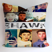 Shawn Mendes Collage Pillow Cases Covers Design Home Decoration