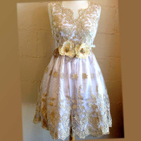 Golden party dress, prom dress, formal dress, bridesmaid dress, flirty dress, sexy dress, feminine dress, Hollywood dress, celebrity dress