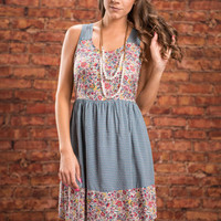 Made To Love You Dress, Teal