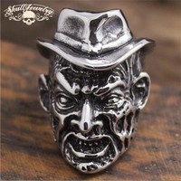 Freddy Krueger - Big, Bold and Heavy Stainless Steel Ring (650)