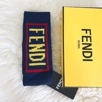Fendi Hot Crochet Knit Knitted Headwrap Headband Warmer Head Hair Band
