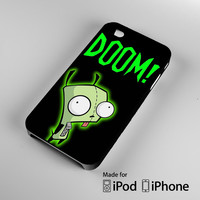 GIR INVADER ZIM iPhone 4S 5S 5C 6 6Plus, iPod 4 5, LG G2 G3, Sony Z2 Case