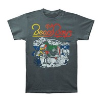 Beach Boys Men's  Live Drawing T-shirt Grey