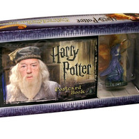 Harry Potter Postcard Book with Limited Edition Dumbledore Figure,# 5