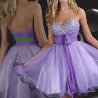Sweetheart Short Homecoming Graduation Prom Gowns  Prom Dresses Cocktail Dresses