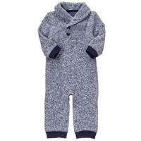 Fleece Knit 1-Piece