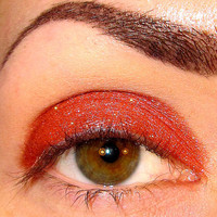 Zen Fire Eyeshadow Mineral makeup (Hot red with shifts of gold red & copper) Eye shadow Eyeliner (5g)
