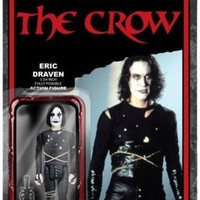 Eric Draven The Crow 3 3/4 Inch ReAction Figure