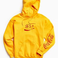 Coca-Cola Embroidered Hoodie Sweatshirt | Urban Outfitters