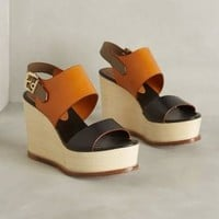 Hoss Intropia Salome Wedges Nude
