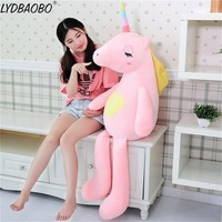 1pc 60/85cm Giant Soft Rainbow Unicorn Plush Toy Adorable Plush Unicorn Stuffed Animal Unicorn Plush Kid Toys Gifts For Children