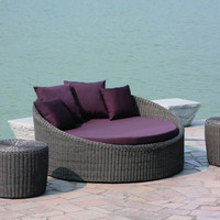 Moon ColAll weather lection 3 Pcs Set (Day Bed, 2 Side Tables)Chaise