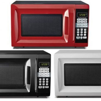 Small Spaces Compact College Dorm Room 0.7-cu ft Microwave Oven Appliance